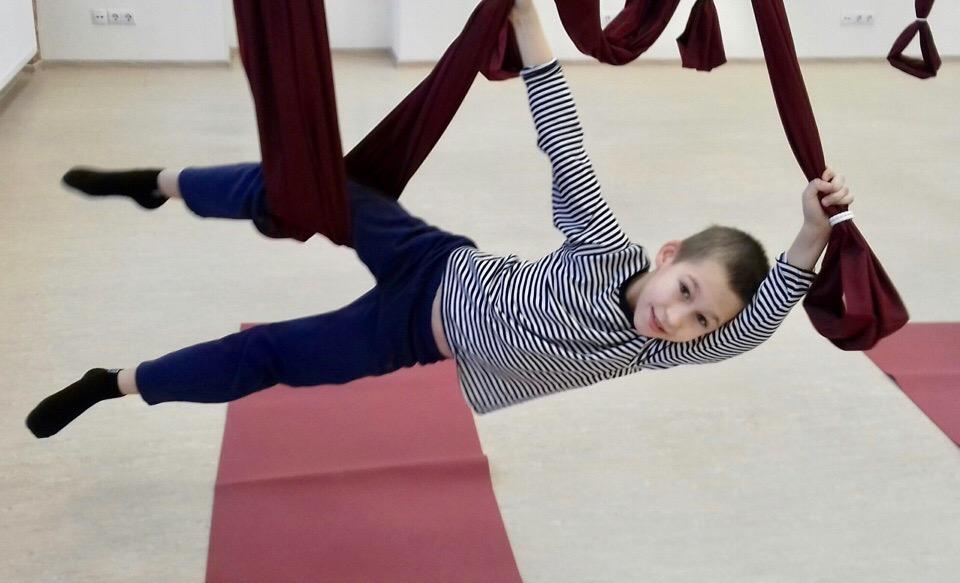 Аэро йога для детей