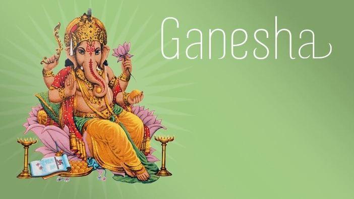 Ганеша: слон, преклонивший колени