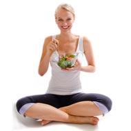 Продукты питания в йоге